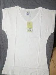 Ladies V Neck T-Shirt