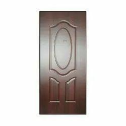 Brown Wood FRP Skin Door, For Home