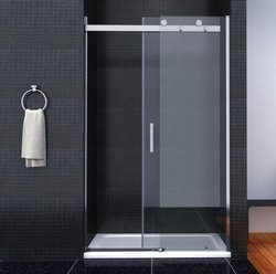 Volga Toughened Glass Sliding Shower Enclosure for Bathroom
