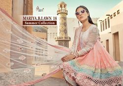 Mariya B Lawn 18 Cotton Suit