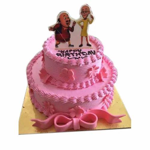 Admirable Birthday Strawberry Eggless Cake At Rs 400 Kilogram Eggless Cake Funny Birthday Cards Online Elaedamsfinfo