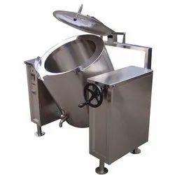 Stainless Steel Rice Bulk Cooker, For Restaurant, Capacity: 40 Ltr