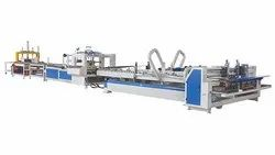 Automatic Corrugated  Box Folder Gluer