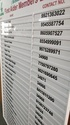 Acrylic Directory Signs