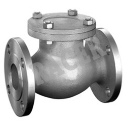 Flanged End CS Lift Type Non Return Valve