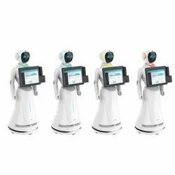 Service Robot For Reception Greeting Service