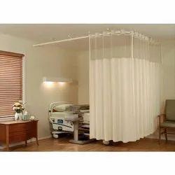 Cotton Cream Hospital Curtain, Size: 4*7