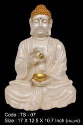 Med Katori Buddha Ts-07, Polyresin Buddha Statue Washable