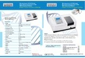 Microprocessor UV-VIS Single Beam Spectrophotometer With Scanning Software