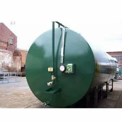 Color Coated MS Storage Tanks
