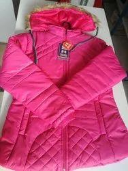Collar Neck Girls Winter Jackets
