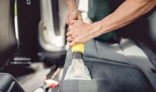 Grey Carpet Cleaning Machine