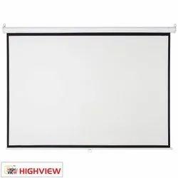 Highview 84 Inch MW Instalock Projector Screen