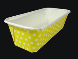 Yellow Polka Container