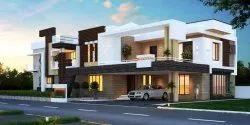 Contemprory 3D Building Elevation Design, Coimbatore, Designing