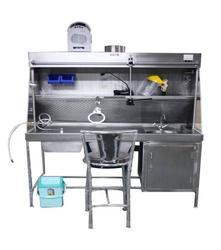 Gross Working Station - Complete Stainless Steel