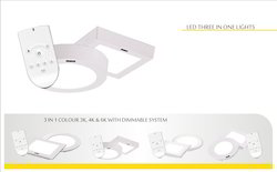 LED 3 in 1 Panel Light, Model: GE-PL-3in1