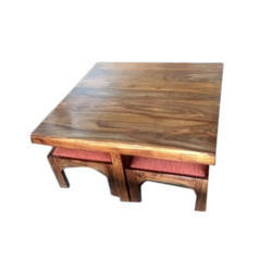Designer Center Table and Stool