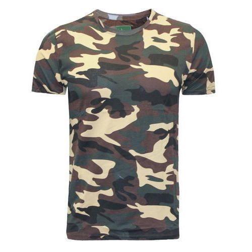 7b344343 Male Medium AndXL Military T Shirt Jungle Print Tshirt, Rs 200 ...