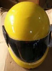 Plastic Full Face Helmet, Size: XL