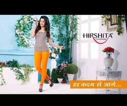 95% Cotton, 5% Spandex 84 COLOR Hirshita Plain Churidar Leggings