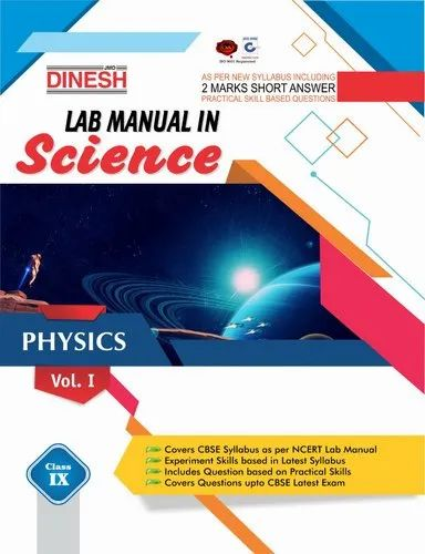 Dinesh Lab Manual In Science Class 9 (set Of 3)