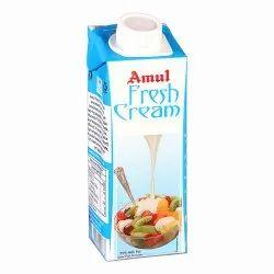 Amul Fresh Cream, Packaging Type: Tetra Pack