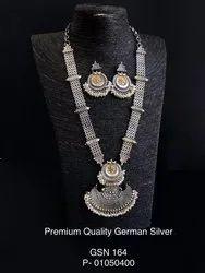 German Silver Dual Tone Necklace