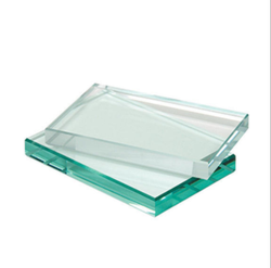 Toughened Glass, Thickness: 12.0 mm, Shape: Flat