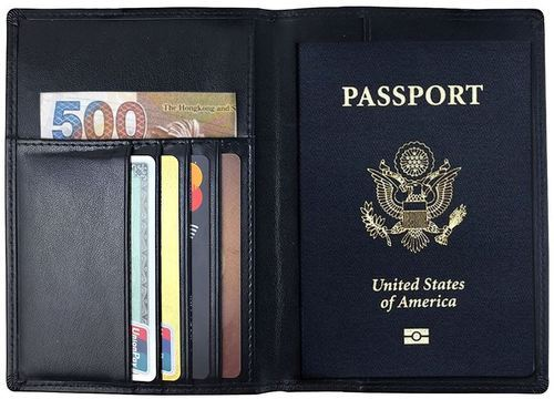 3692eda1da84 Leather Passport Covers & Travel Accessories - Passport Covers ...