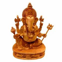 Wooden Paoti Ganesha