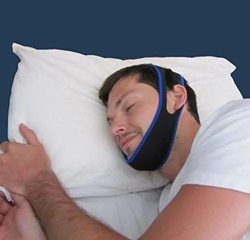 Neoprene Feature Stop Snoring Chin Strap