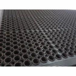 Black Rubber Ramp Mat