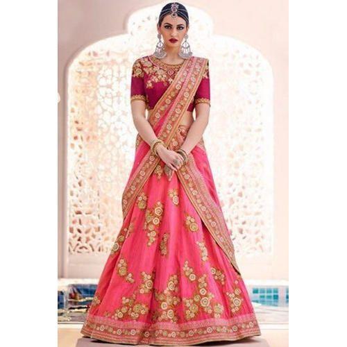 58d0fcc753 Georgette Designer Bridal Lehenga Choli, Rs 980 /piece, Shivam ...