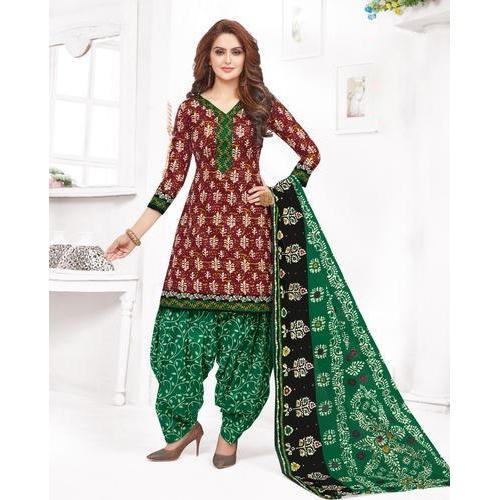 a982454d53 Ladies Unstitched Printed Salwar Suit, Rs 300 /piece, Ambica ...