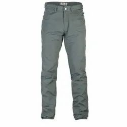 Regular Fit Casual Wear Mens Cotton Trouser, Packaging Type: Box
