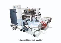 Rollstar ATM Rolls Slitter Rewinding Machine