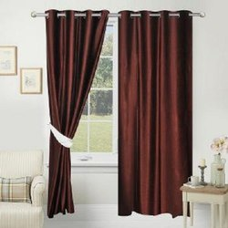 Polyester 90 Inch Fabric Decorative Door Curtain