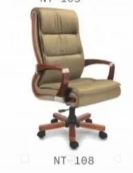 Leather Boss Chair, For Office Usage