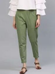 Sustainable Cotton Ladies Pants/Trouser