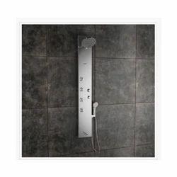 Zion Steel Matte Shower Panel