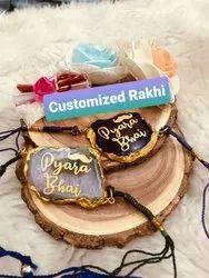 Agate Druzy Stone Rakhi