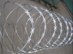 Galvanized Concertina Wire for Industrial Use