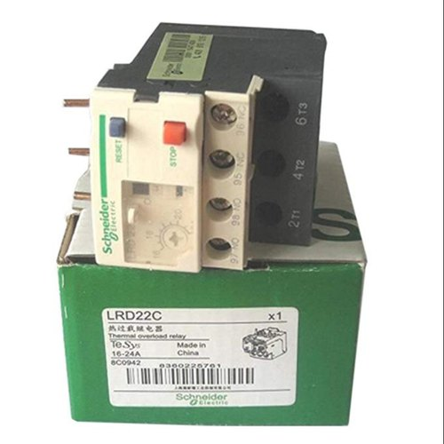Schneider Contactor And Over Load Relay