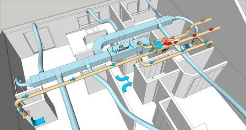 hvac duct shop drawing, hvac engineering in thaltej, ahmedabad, cad