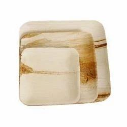Square Areca Export Plates