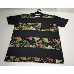 Printed Cotton Boys Casual T-Shirt