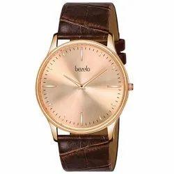 Rose Gold Analog Ultra Slim Men's Watch, Model Name/Number: GR-1024-ROSE