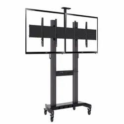 Dual TV Trolley Floor Standee
