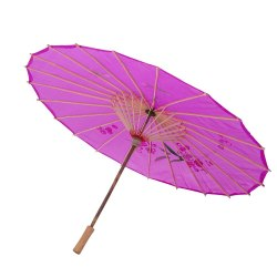 Red Polyester Japanese Umbrella, For Rain